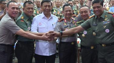 Total ada sekitar 15 ribu anggota TNI yang dikerahkan untuk 19 April 2017 besok.
