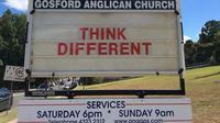 Gereja Anglican Gosford. (Facebook)