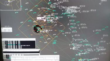 Radar penerbangan AIrNav Indonesia