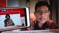 Sesi Dialog Produktif bertema tema 'Vaksin dan Pembangunan Kesehatan Indonesia' di Media Center Komite Penanganan COVID-19 dan Pemulihan Ekonomi Nasional (KPCPEN) pada Rabu (18/11/2020)