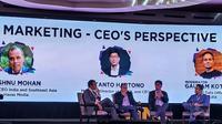 Forum Mobile Marketing Associate (MMA) Impact Indonesia 2019 membahas mengenai perspektif para pemimpin perusahaan besar tentang data driven marketing.