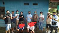 Pelaku pengedar narkoba saat diringkus Polres Bone Bolango (Arfandi Ibrahim/Liputan6.com)