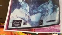 Gambar jasad diduga penumpang KM Sinar Bangun yang tertangkap oleh ROV atau robot bawah air. (Reyn Gloria/JawaPos.com)