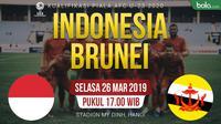 Kualifikasi Piala AFC U-23 2020 - Indonesia Vs Brunei Darussalam (Bola.com/Adreanus Titus)