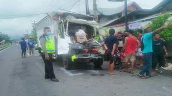 3 Warga Gorontalo Tewas dalam Kecelakaan Maut di Minahasa Selatan