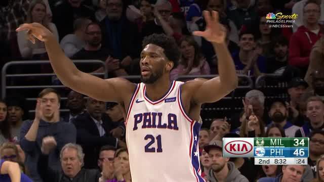 Berita video game recap NBA 2017-2018 antara Philadelphia 76ers melawan Milwaukee Bucks dengan skor 116-94.