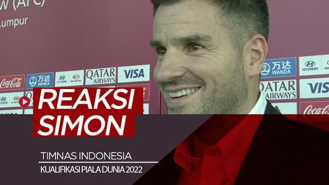 Berita video komentar Pelatih Timnas Indonesia, Simon McMenemy, soal hasil drawing Kualifikasi Piala Dunia 2022, di mana tim Garuda segrup dengan Malaysia, Vietnam, dan Thailand.