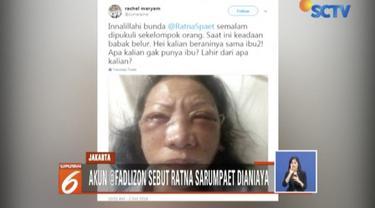 Terkait dugaan penganiayaan Ratna Sarumpaet, polisi mengatakan kasus Ratna tidak bisa dipertanggungjawabkan.