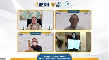 BPKH dan PTPP Tandatangani MoU Terkait Proyek Rumah Indonesia di Mekkah