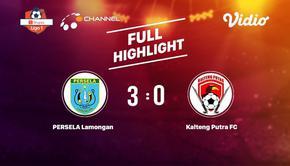 Laga Lanjutan Shopee Liga 1 PERSELA Lamongan VS Kalteng Putra FC Berakhir 3-0 #shopeeliga1