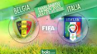 Belgia vs Italia (Bola.com/Samsul Hadi)