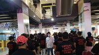 PSI Surabaya membentuk satgas anti politik uang dengan menerjunkan 400 orang (Foto: Liputan6.com/Dian Kurniawan)