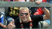 Cristian Gonzales punya kenangan manis di Samarinda. (Bola.com/Iwan Setiawan)