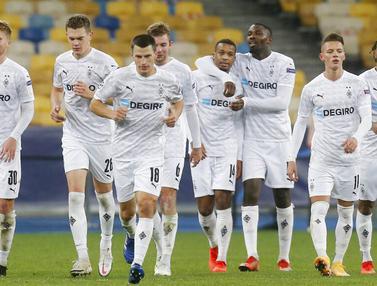 Borussia Moenchengladbach Menang Setengah Lusin Atas Shaktar Donetsk di Liga Champions