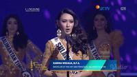 Karina Widjaja, finalis Puteri Indonesia dari Sulawesi Selatan (Dok.Video.com)