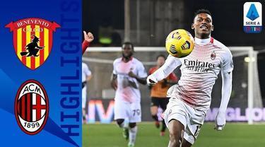 Berita Video AC Milan kalahkan Benevento 2-0