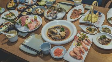 Ilustrasi makanan Jepang