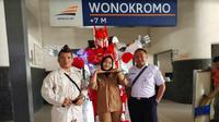 Stasiun Wonokromo, Surabaya (Foto:Liputan6.com/Dian Kurniawan)
