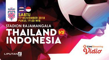 Prediksi Thailand vs Indonesia AFF 2018
