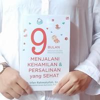 Buku 9 Bulan Menjalani Kehamilan dan Persalinan yang Sehat./Copyright Endah
