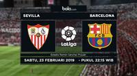 La Liga: Sevilla Vs Barcelona (Bola.com/Adreanus Titus)