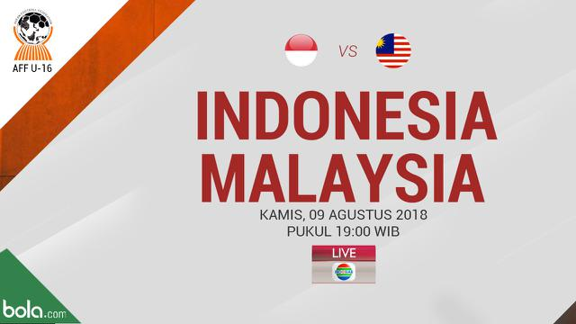 Indosiar Streaming Facebook: Live Streaming Semifinal Piala AFF U-16 2018 Di Indosiar