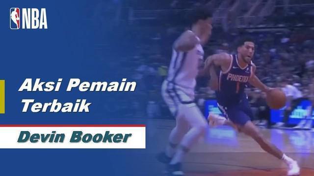 Berita Video NBA, Devin Booker Cetak 40 Poin Saat Phoenix Suns Dikalahkan Memphis Grizzlies 114-121
