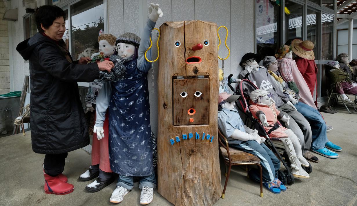 Desa Nagoro, desa boneka di Jepang