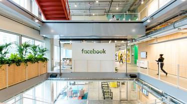 Salah Satu Sudut Ruangan di Kantor Facebook di Seattle