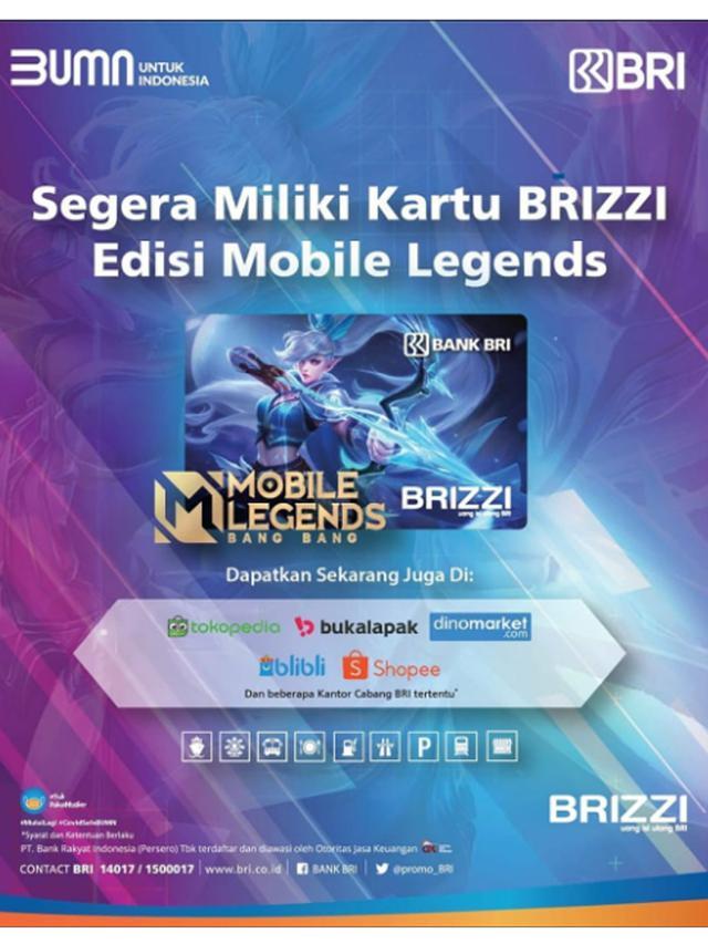 Rangkul Para Fans MLBB, BRI Terbitkan BRIZZI Special Edition MobileLegend