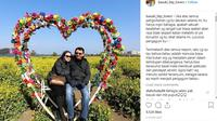Basuki Tjahaja Purnama alias Ahok (BTP) berfoto bersama calon istrinya, Puput Nastiti Devi. (Instagram @basuki_btp_lovers)
