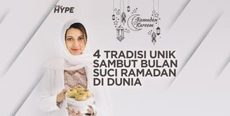 Aneka Tradisi Unik Sambut Bulan Suci Ramadan di Dunia