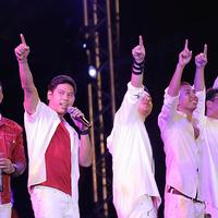 Kahitran atau Kahitna dan RAN tampil di Prambanan Jazz 2018, Jumat, 17 Agustus 2018