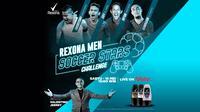 Rexona Men Soccer Stars Challenge yang bakal mengajak 4 pemain nasional untuk unjuk gigi dalam bermain game FIFA di Playstation 4.