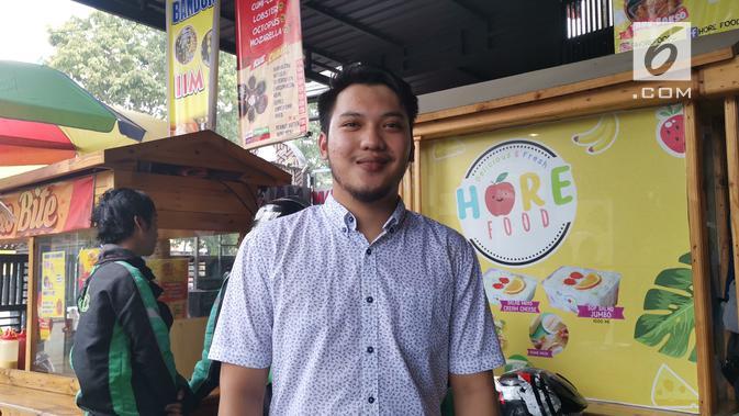 Berawal dari eksperimen pembuatan salad, Ismail Hadi Nugroho, memutuskan mendirikan Hore Food dengan resep sendiri. (Liputan6.com/ Andina Librianty)