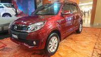 Desain New Terios merupakan suatu tuntutan pasar yang menginginkan sebuah SUV yang lebih aman dan nyaman.