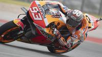 Marc Marquez bakal start di posisi ketiga pada MotoGP Amerika (AFP)