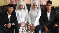 Curhatan dua pasangan suami istri kemabr tinggal serumah. (Sumber: YouTube/Doon Tivi)