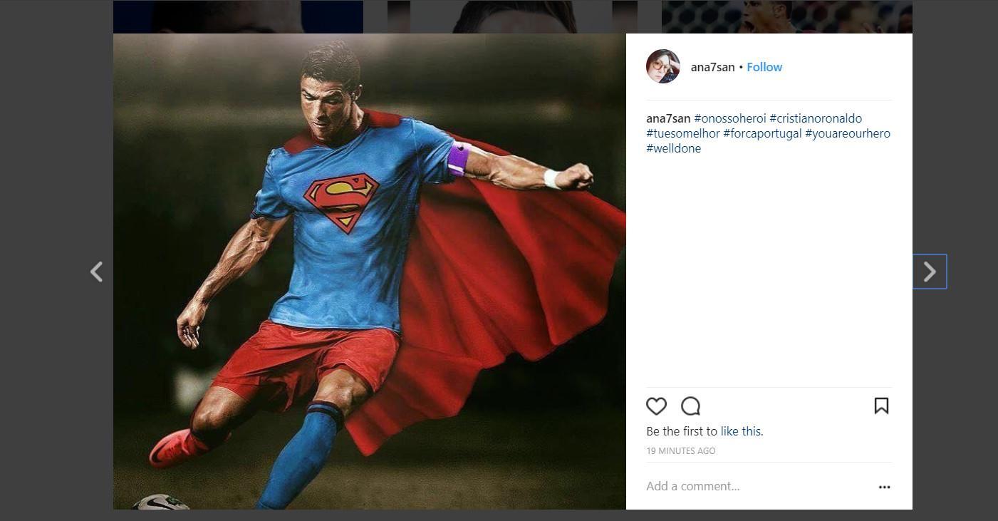 Cetak Hattrick Lawan Spanyol Meme Cristiano Ronaldo Ramai