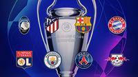 Liga Champions - 8 Tim yang Lolos ke Perempat Final Liga Champions (Bola.com/Adreanus Titus)