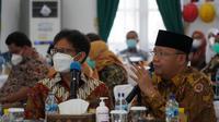 Menteri Kesehatan RI Budi Gunadi Sadikin singgah ke RSKJ Soeprapto Bengkulu, Kamis, 11 Maret 2021. (Dok Kementerian Kesehatan RI)