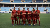 Asnawi Bahar mengatakan timnya bermain tidak seperti biasa dan memiliki start yang buruh sehingga kalah 0-4 dari Thailand. (dok. PSSI)