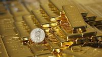 Ilustrasi emas (Reuters)