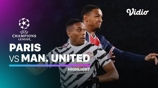 Berita video highlights Liga Champions, Marcus Rashford bawa Manchester United raih kemenangan atas PSG, 2-1, Rabu (21/10/20).