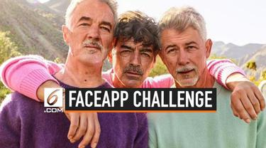 Warganet termasuk selebritas ikut meramaikan tren #FaceAppChallenge di media sosial. Di tantangan tersebut, mereka mengunggah foto mereka di saat tua.