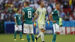 Saat menjadi tuan rumah Piala Dunia 2006, Jerman juga menang lewat adu penalti atas Argentina dengan skor 4-2. (AP/Frank Augstein)