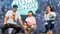 Peresmian Fans Club Rakyat Bumilangit di Indonesia bersama Abimana Aryasatya, Zaraex JKT48, Muzakki Ramadhan di Indonesia Comic Con, Jakarta, (12/10/2019) di Jakarta (dok Screenplay Films)