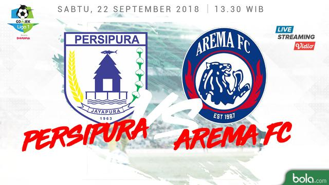 Persipura Jayapura Vs Arema Fc Live Streaming Liga Unu Vidio Com Indonesia Bola