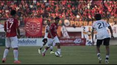 Highlights Piala Presiden 2015 antara Persija Jakarta vs Persita Tangerang di Stadion Dipta Gianyar, Bali. Kamis (3/9/2015).