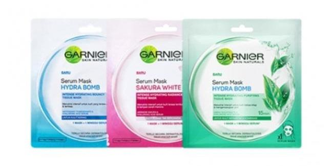 Garnier Serum Mask/copyright sociolla.com